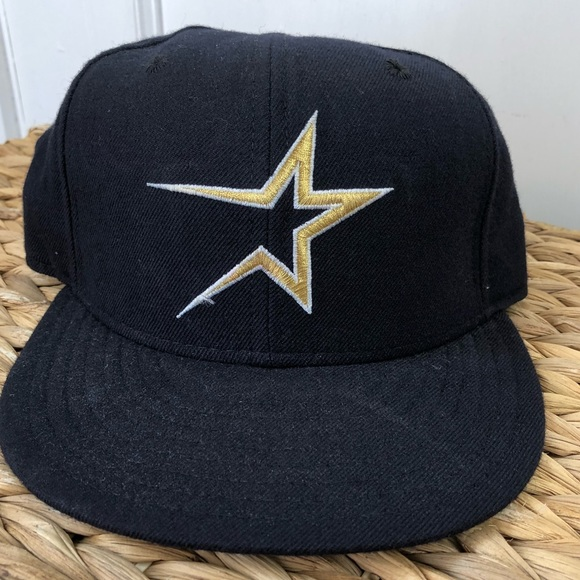 acae796d5 Vintage Houston Astros Fitted Cap Size 6 3/4